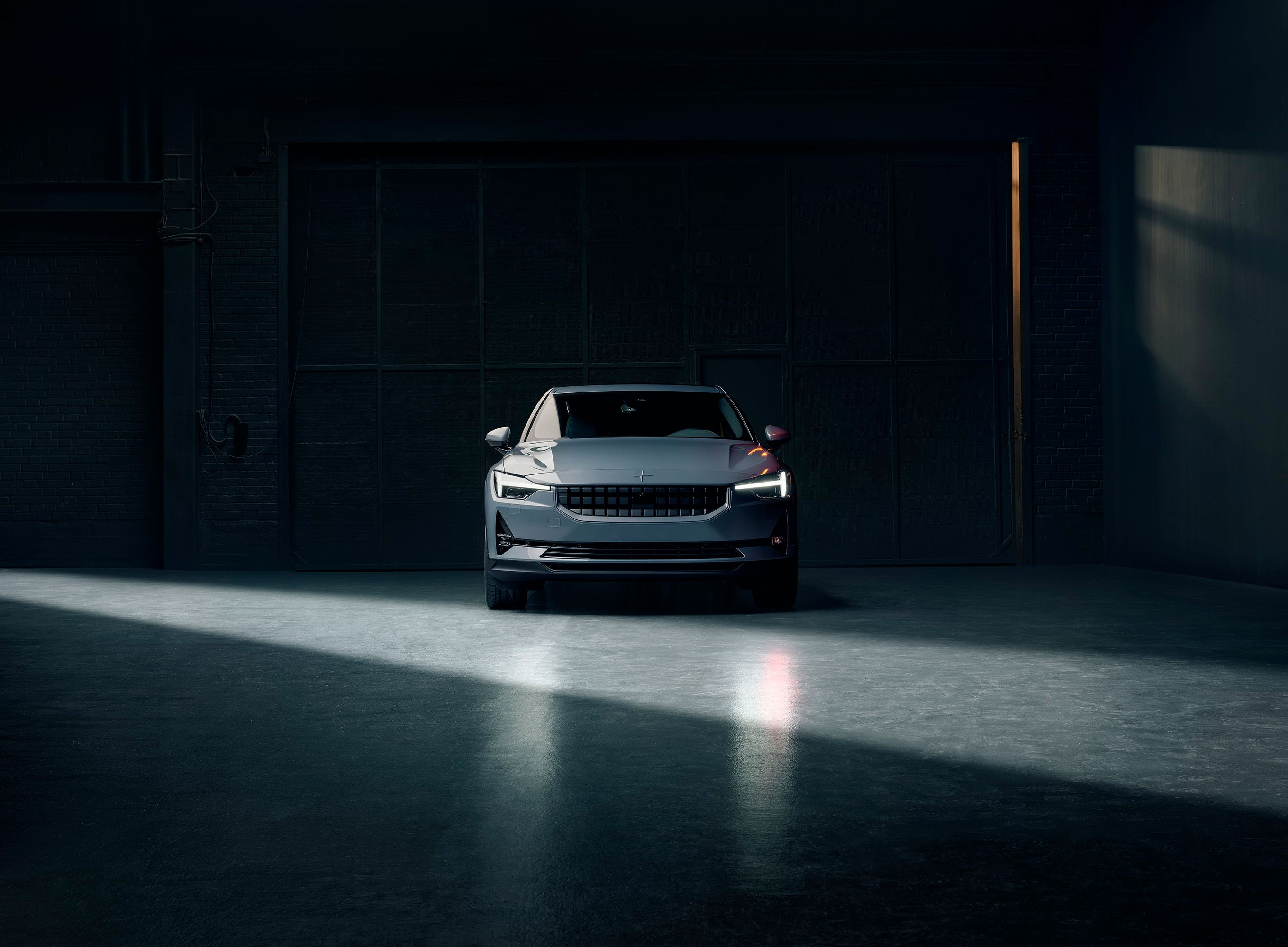 "Experience Polestar 2 for yourself. ""Hey Google, remind me to book a test drive today"""