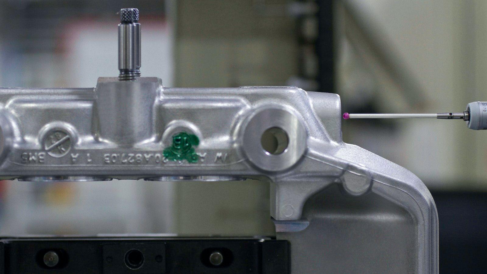 Photo détaillée de l'usine Brembo.