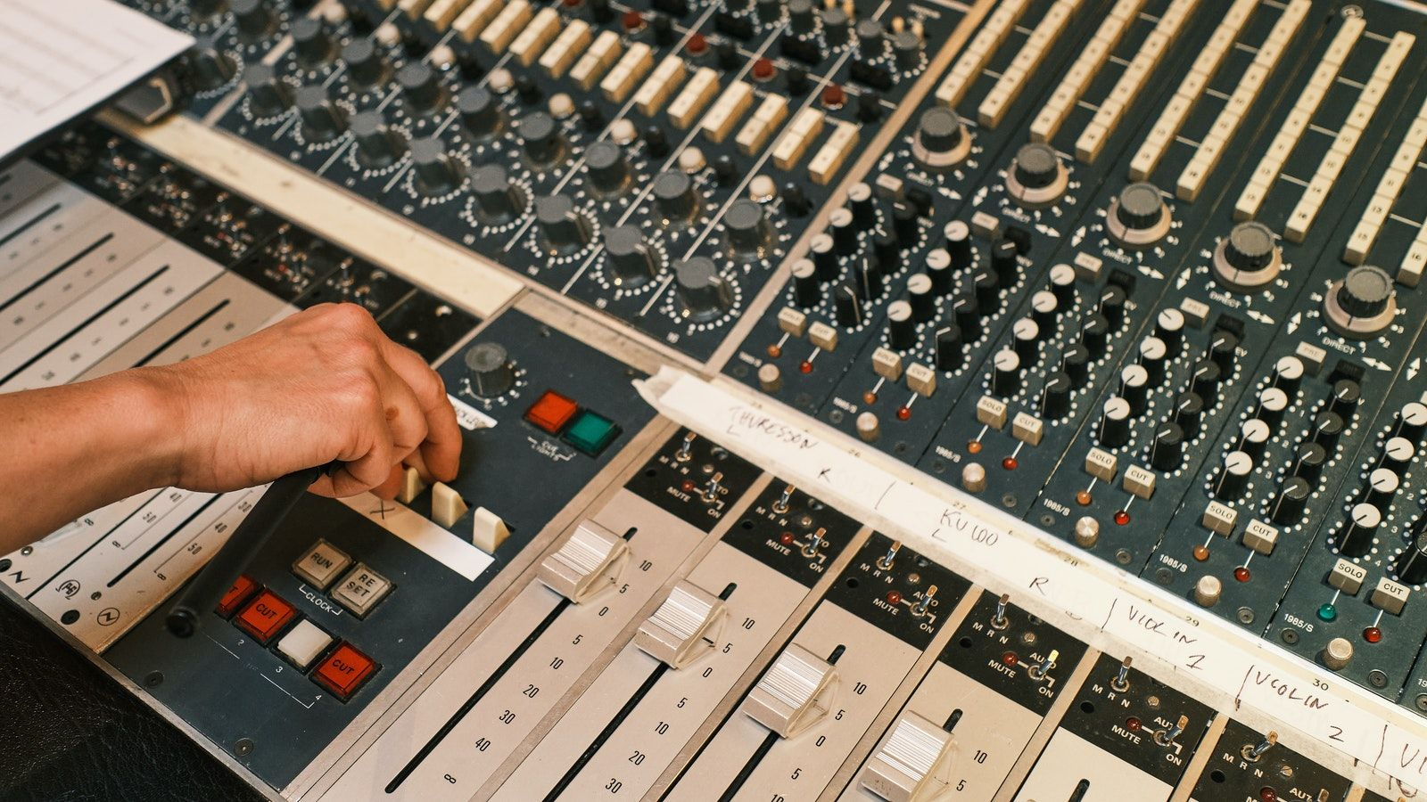 Making Polestar music at Svenska Grammofon Studion