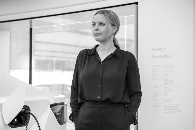 Fredrika Klarén is Head of Sustainability at Polestar.