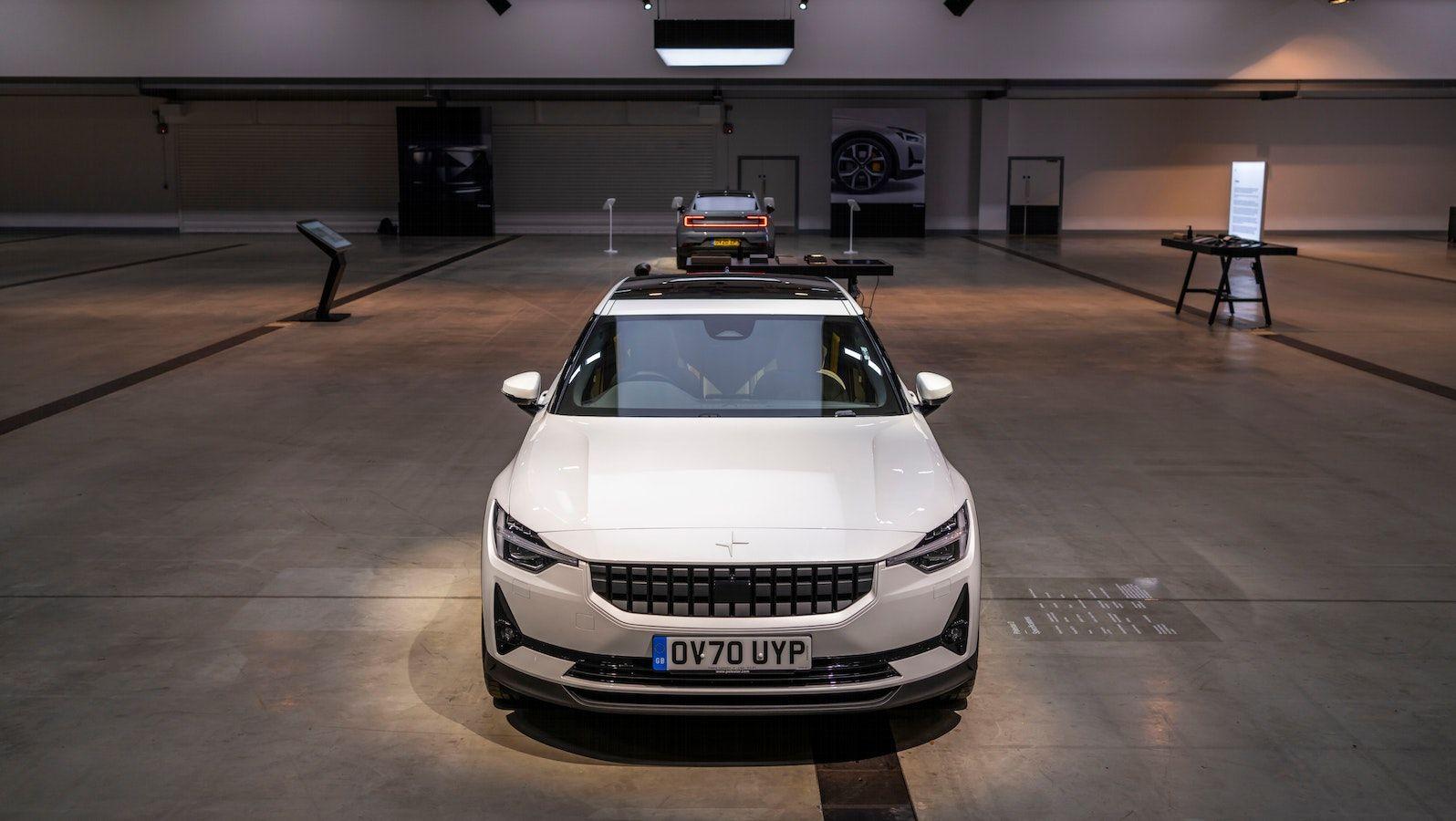 Polestar sponsors a fully electric drive-in cinema.