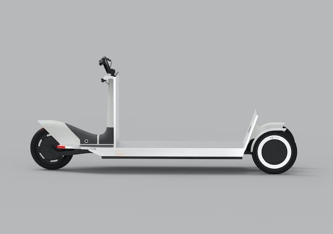Re:Move, un transporteur électrique durable à trois roues.
