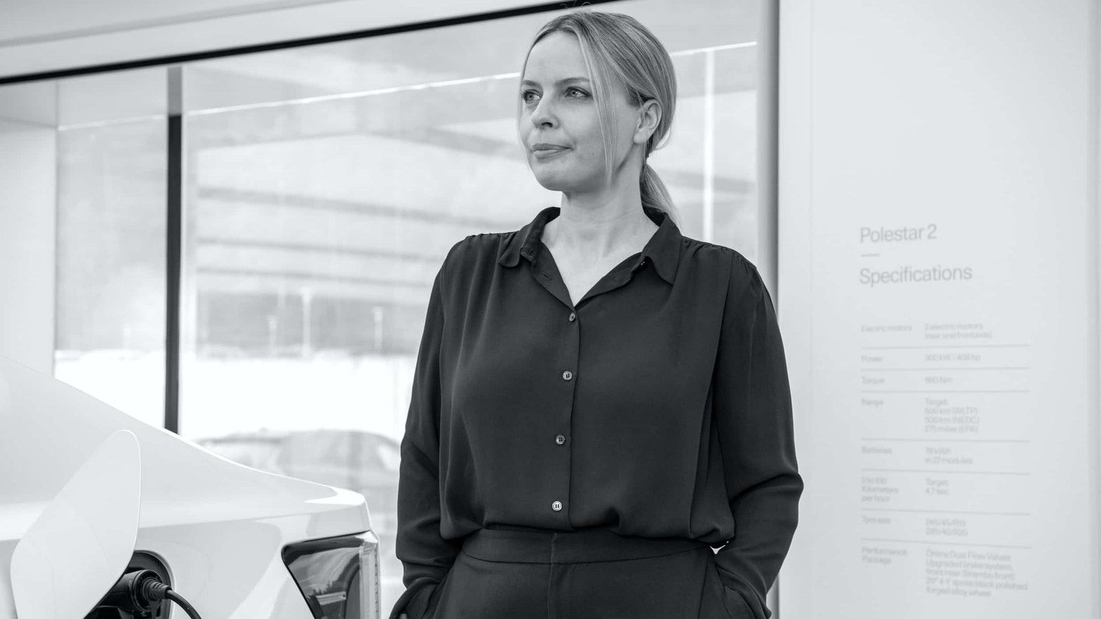Fredrika Klarén – Head of Sustainability bij Polestar.