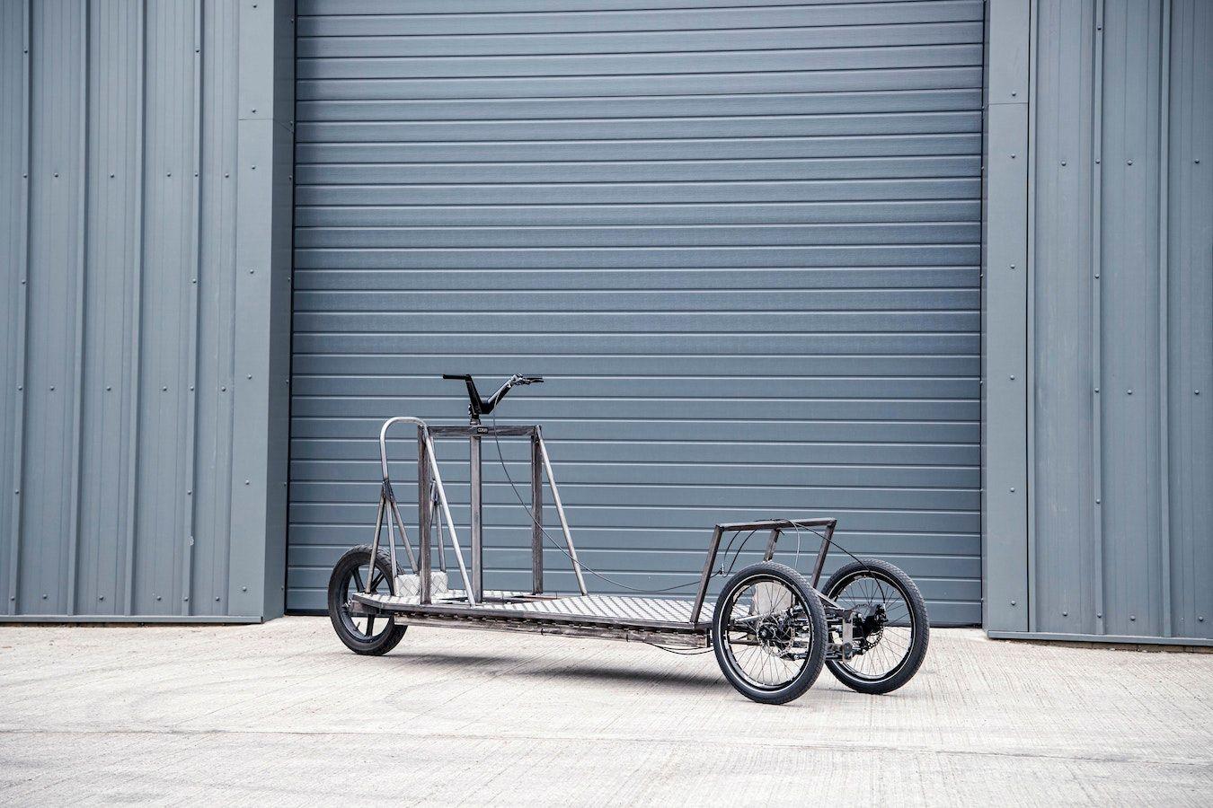 Le transporteur du tricycle électrique Re:Move.