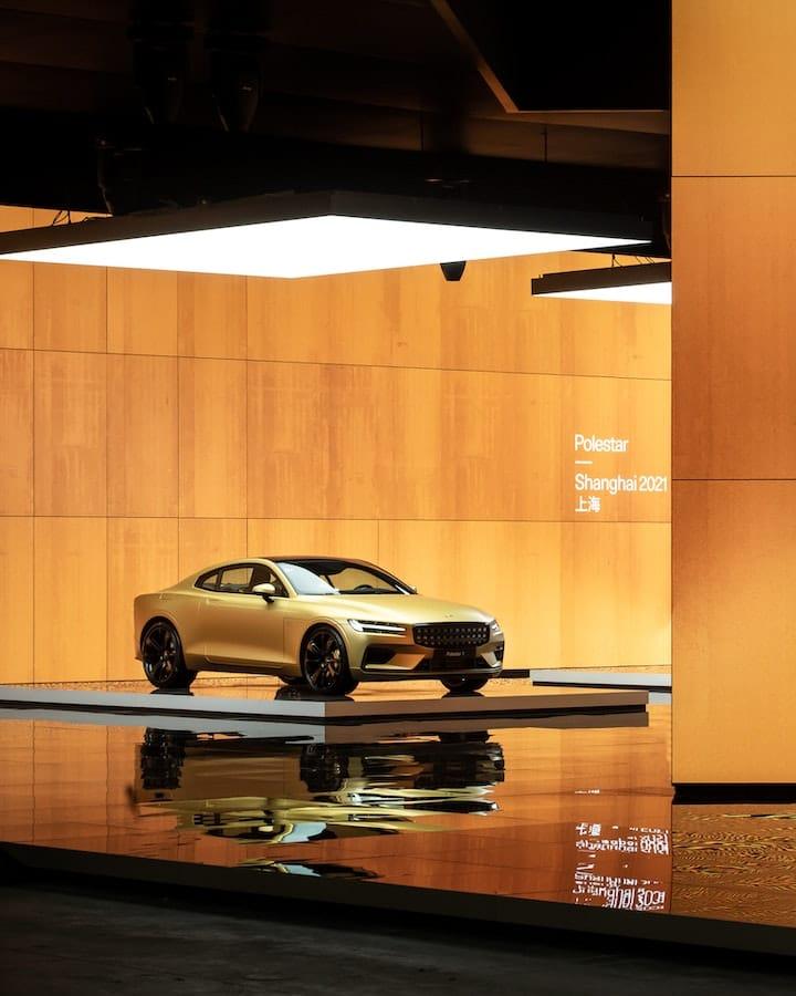 Polestar au Salon de l'automobile de Shanghai 2021.