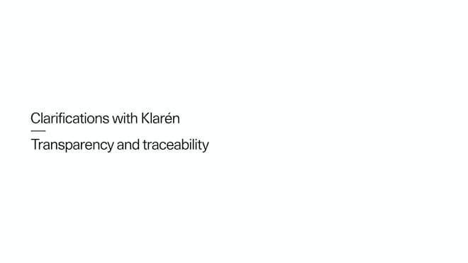 Fredrika Klarén, Polestar Head of Sustainability, nous parle de transparence et de traçabilité.