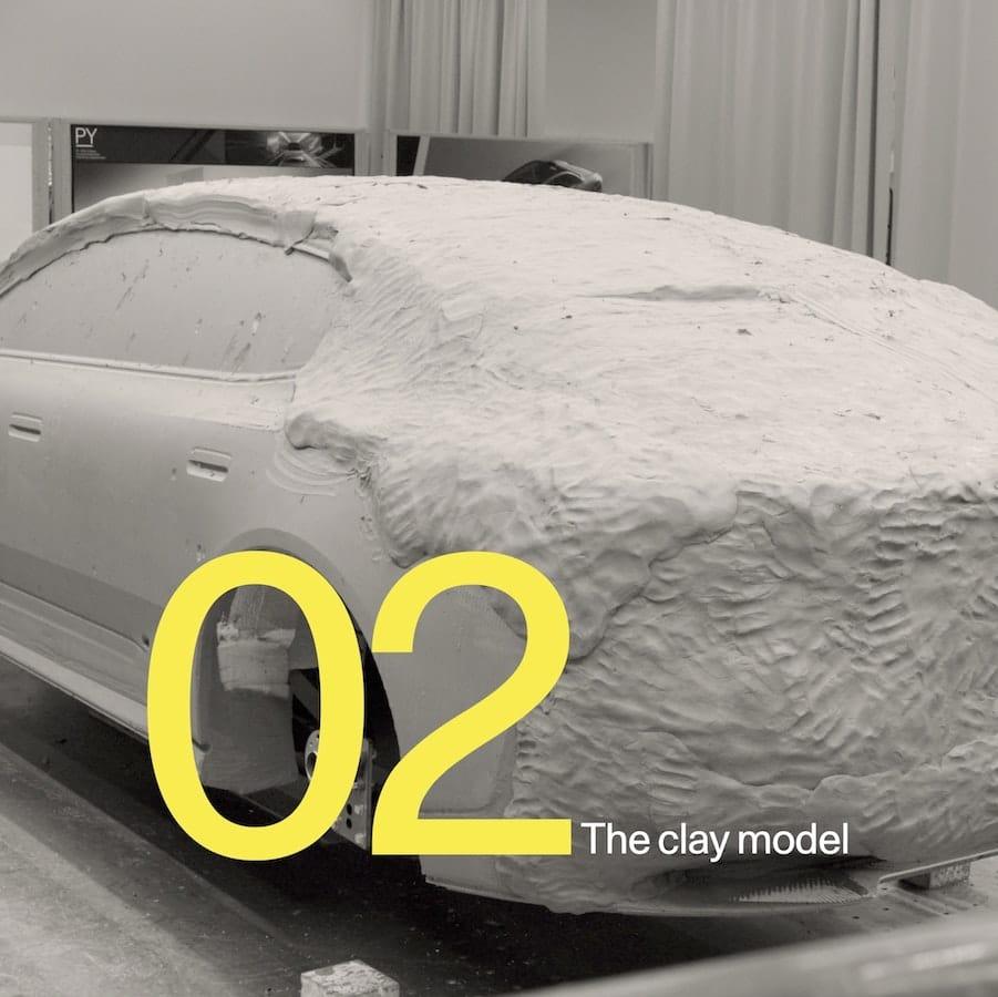 Een beeld uit de tweede aflevering van Polestar Precept: From Concept to Car.