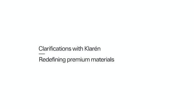 Fredrika Klarén, Head of Sustainability bij Polestar, vindt eersteklas materialen heruit.