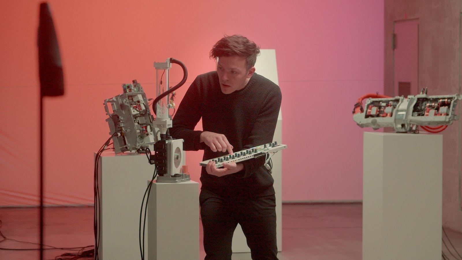 Interview met muzikant en ingenieur Moritz Simon Geist.