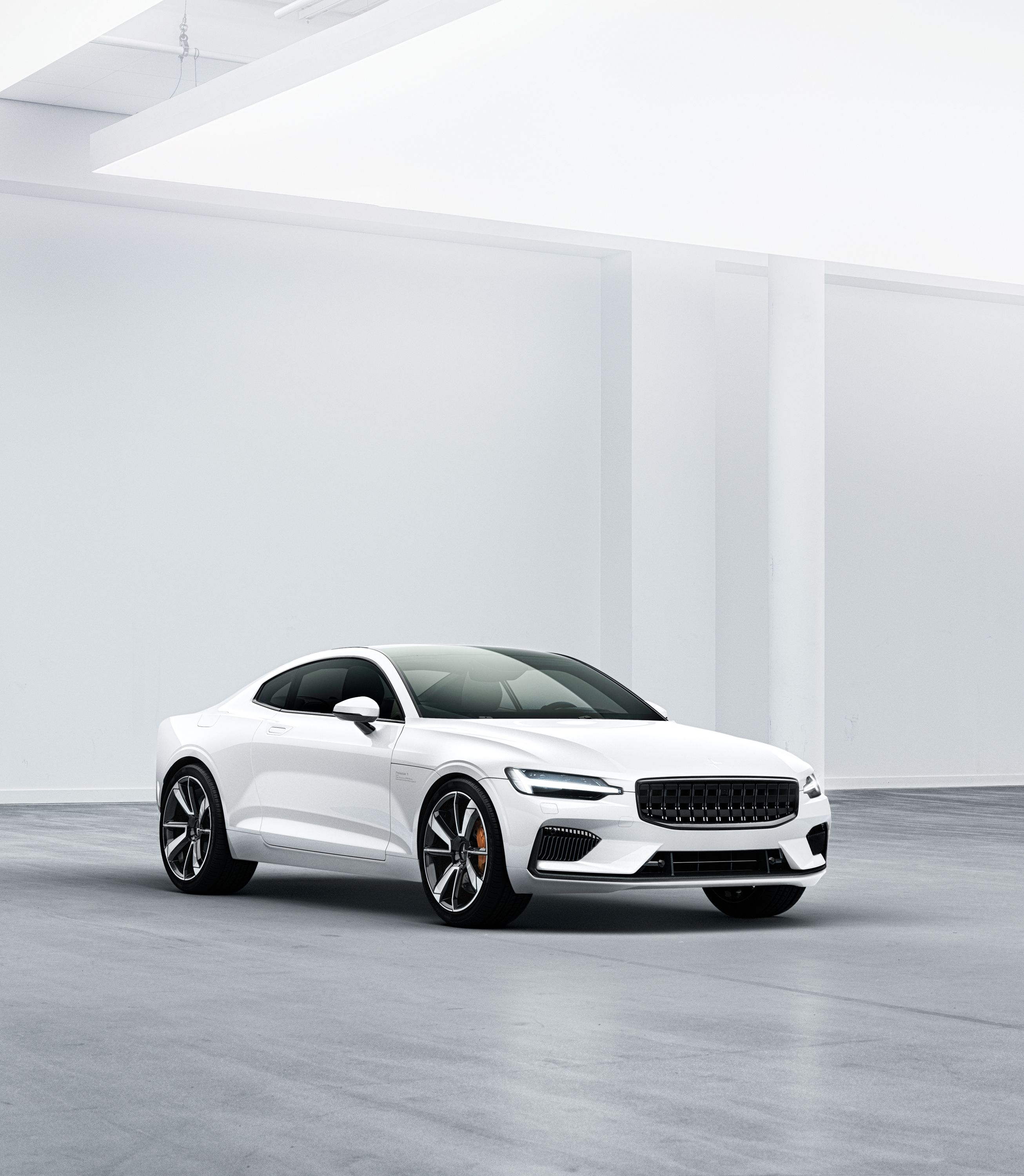 Polestar Unveils Its First Car The Polestar 1 And